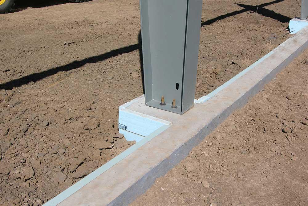 Perimeter Foundation Install