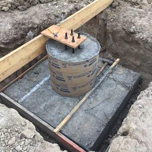 Pier Foundation Install