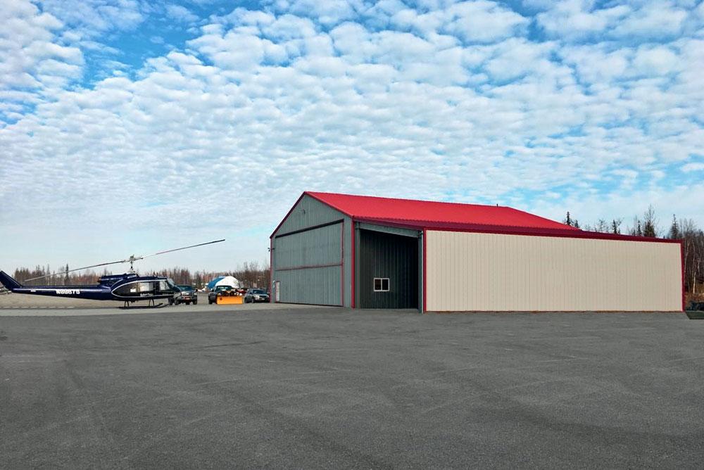 Metal Hangar Alaska