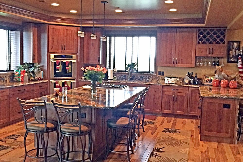Metal Home Kitchen