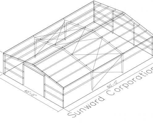 40x60 Steel Building